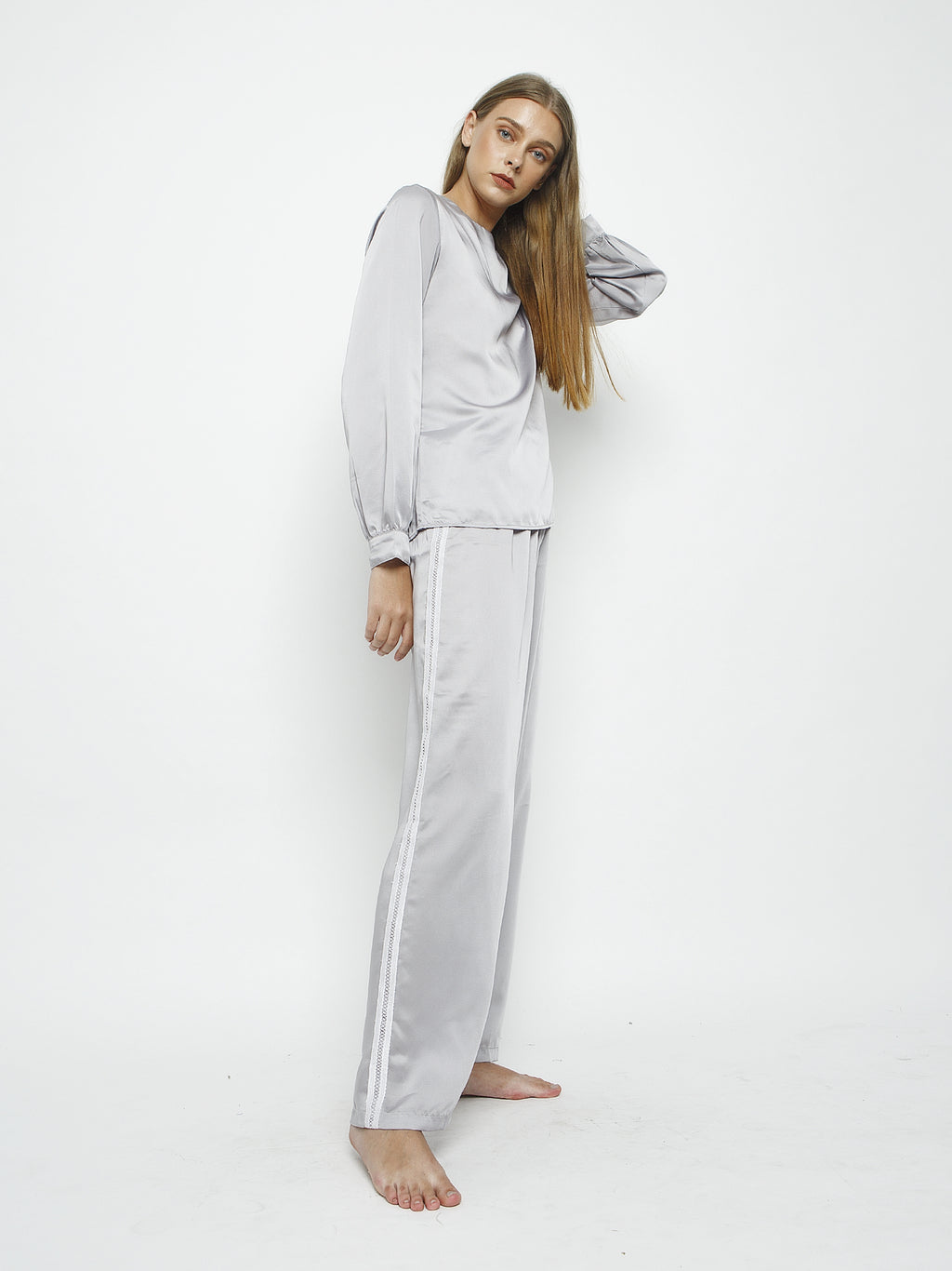 Lizzy Satin Tracksuit Set