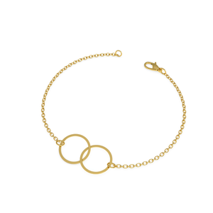 Interlocking Cirlce Bracelet