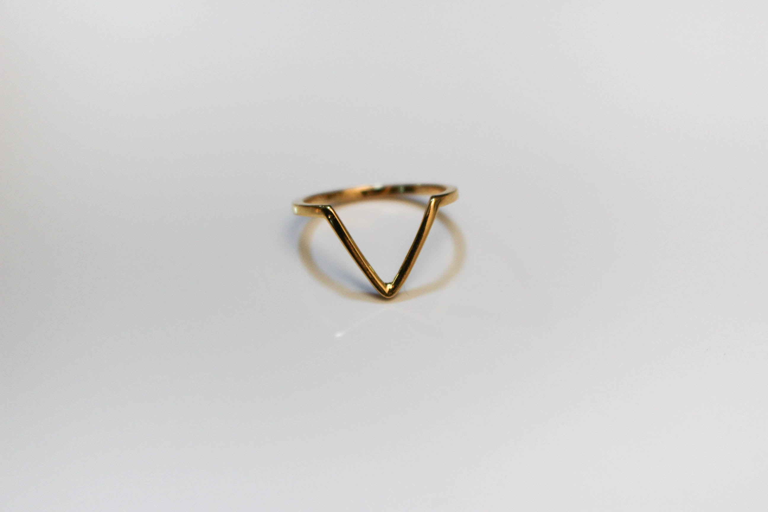 Deep V Stacking Ring
