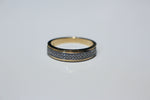 Load image into Gallery viewer, DOUBLE ROW PAVE BAND