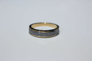 DOUBLE ROW PAVE BAND