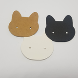 cat earring display cards