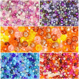 Mixed Colour Rondelle Beads 6mm