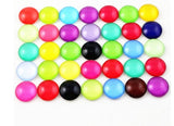 8mm bright glass cabochons