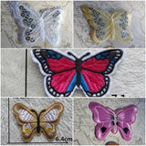 Butterfly Patch,Butterfly Transfer, Iron On Butterfly,