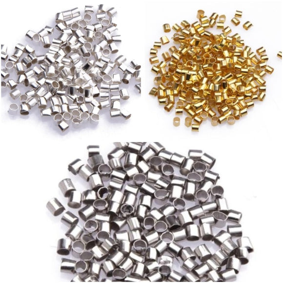 crimp end beads, making jewellery