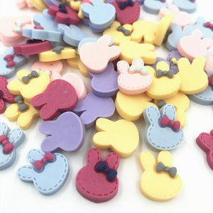 Easter Resin Rabbit, Bunny, 15mm, rabbit shapes,