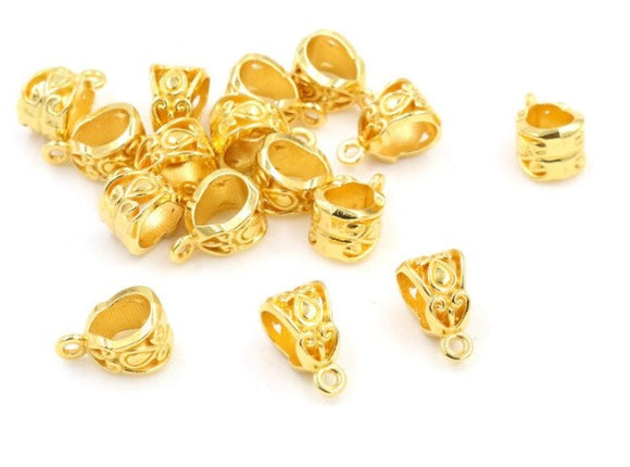 Gold Plated European Bails,