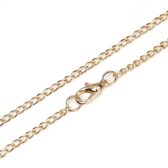 Gold Plated Necklace Chains 20 inch