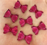 Resin Bow Flatbacks 20mm