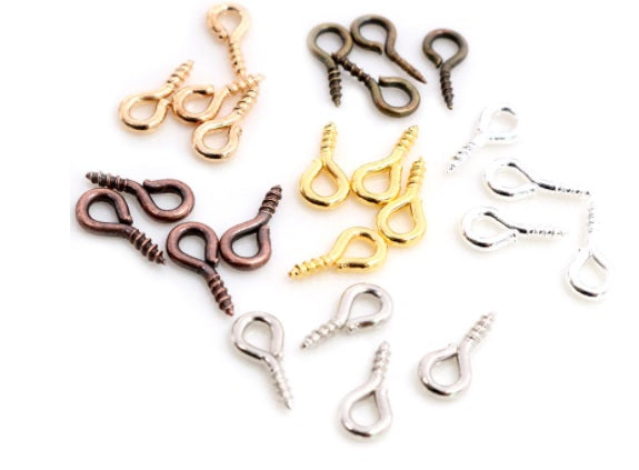 Mixed Packs of Eye Screw Pins 10mm x 5mm