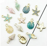 Shell Charms, Beach Charms,