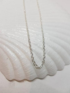 Silver Plated Chains, 16 inches,