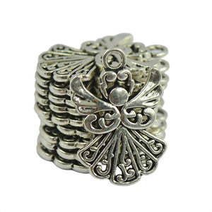 Silver Angel Christmas Charms