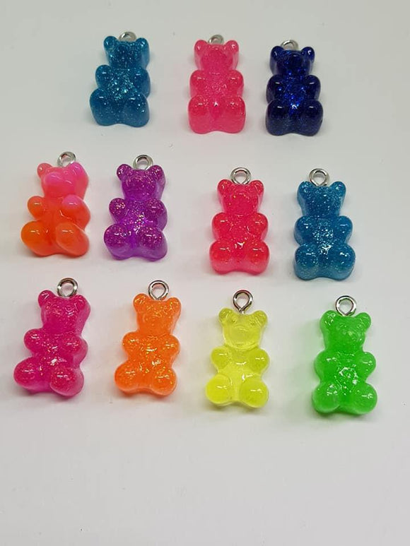 Teddy Bear Charms, Gummy Bear,