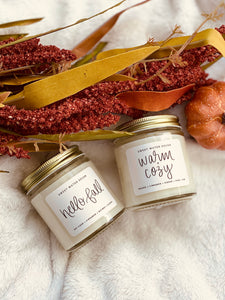 Warm and Cozy Mini Candle - El and Ember Boutique