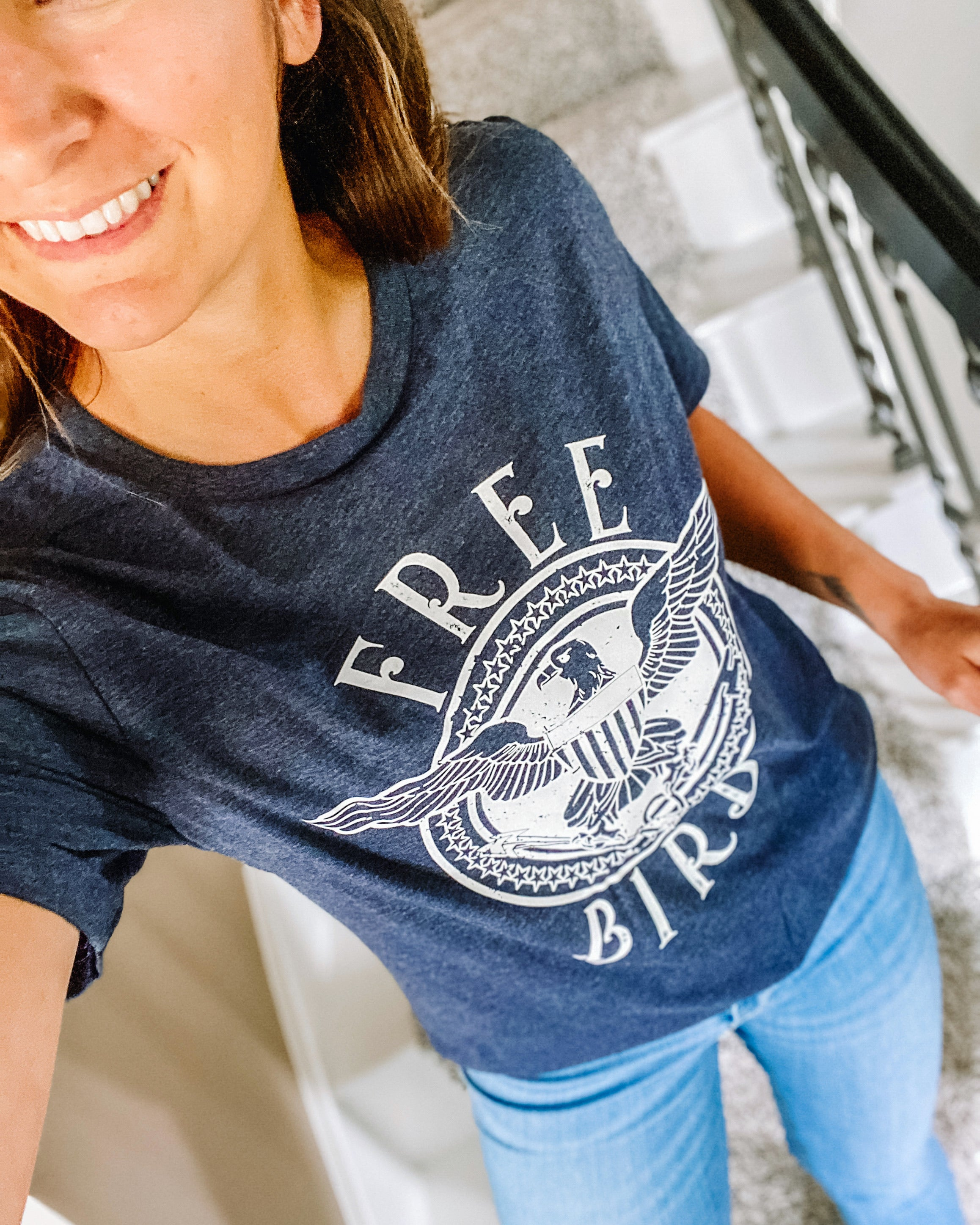FREE BIRD Tee - El and Ember Boutique