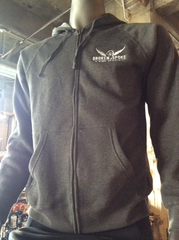 Broken Spoke zip-up hoody