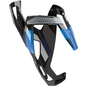 Elite custom race water bottle cage Blk/blue