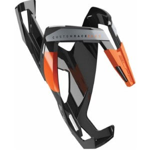 Elite custom race water bottle cage Blk/orange
