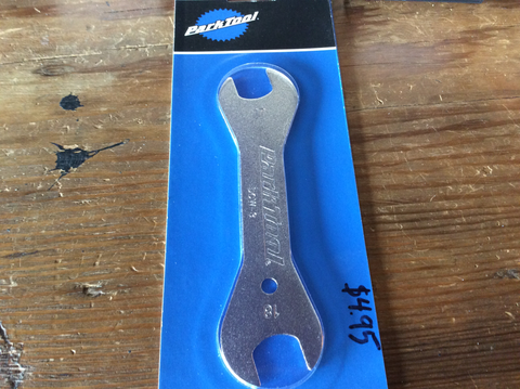 Parktool 17mm-18mm cone wrench