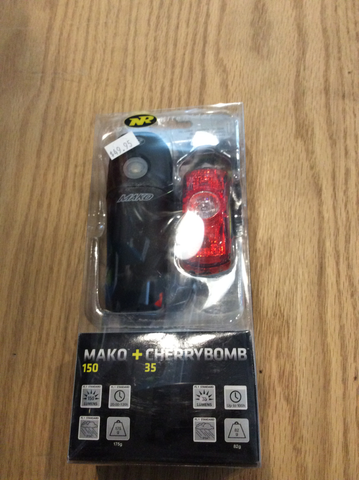 Nite rider mako 150 k cherrybomb 35 light set