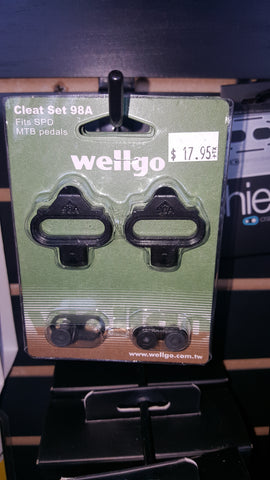 Wellgo cleat set 98A