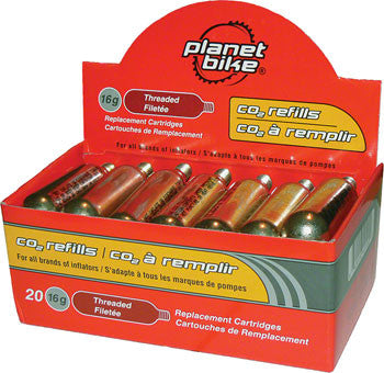 Planet Bike 16g Threaded CO2 Cartridge