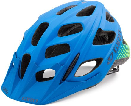 Giro hex adult small / mat blu lime
