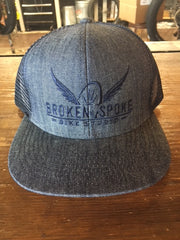Broken Spoke Flex Fit Trucker Hat
