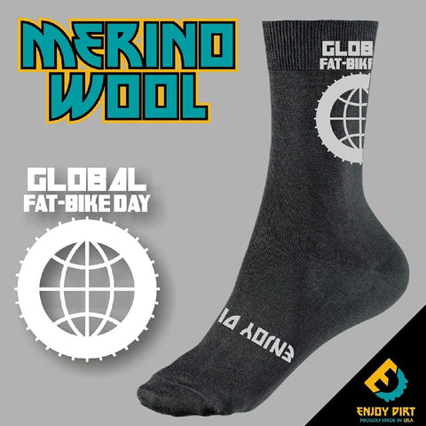 Gobal Fat Bike Day Socks
