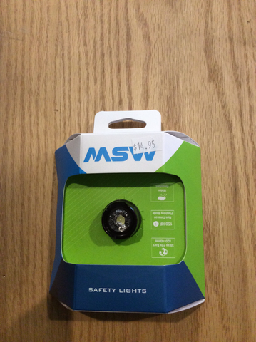 Msw safety lights front