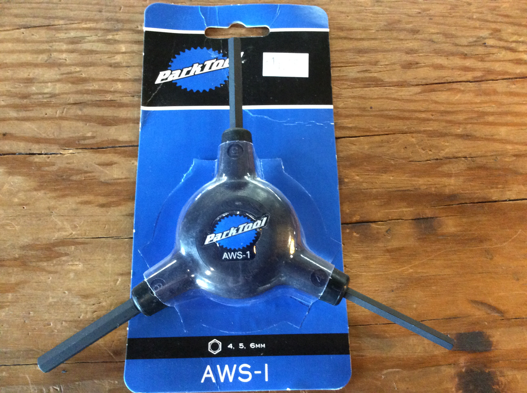 Park Tool AWS-1 3-Way Hex Wrench