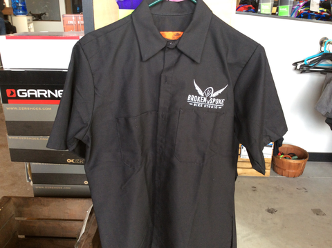 Broken Spoke Mechanic Shirt