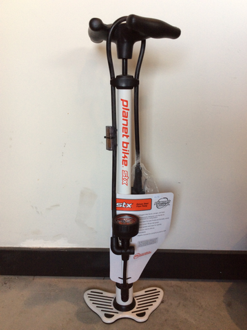 Planet Bike STX Deluxe steel floor pump
