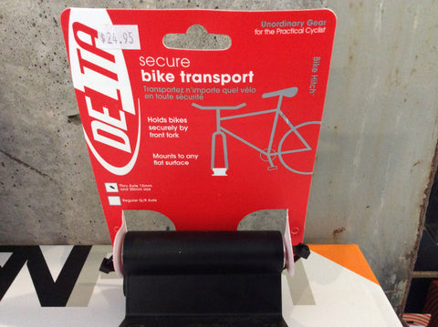 Delta Secure Bike Transport for 15mm & 20mm thru axle