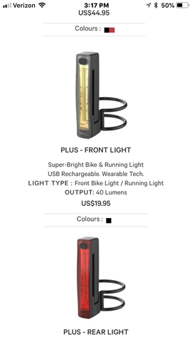 Knog Plus Light Front