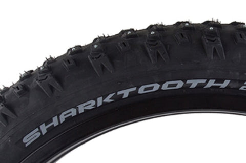 4.0 Arisun Shartooth Studded Fat Bike Tire 26""