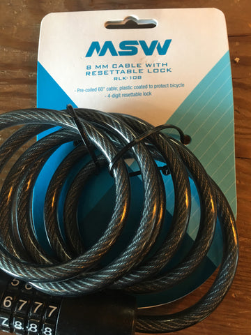 MSW Cable Lock