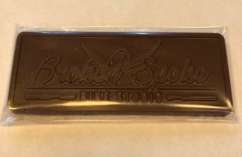 Broken Spoke Milk Chocolate Bar with Nuts
