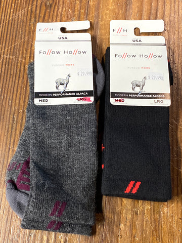 Follow Hollow Alpaca Socks