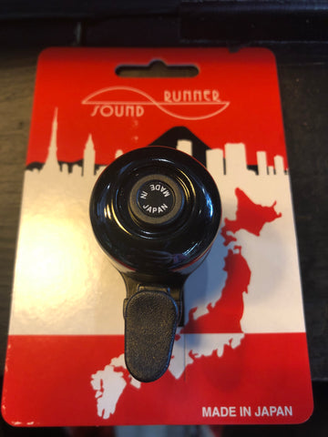 Sound Runner Ping Bell Black