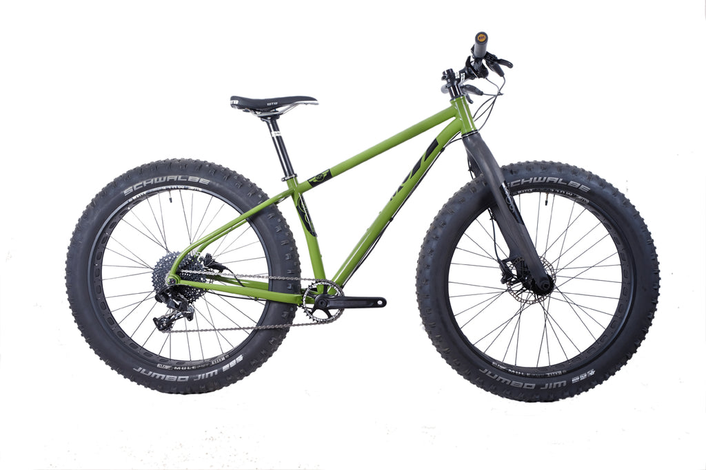 509 Cycles Jabit III Steel Fat Bike Frame | brokenspokebikes