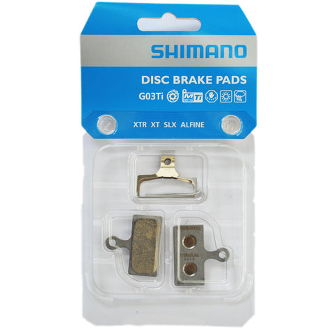 Shimano G03 Metal Disc Brake Pads