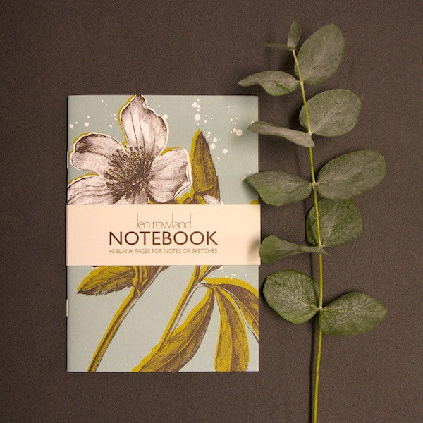 Helibore A6 Notebook  - Duck Egg