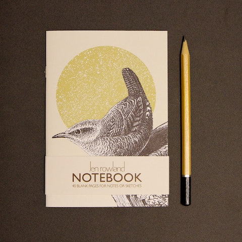 Woodland Animals A6 Notebook - Wren