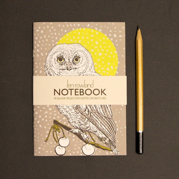Owl A6 Notebook - Daytime