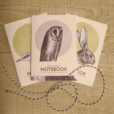 A6 Notebook Set - Woodland Animals