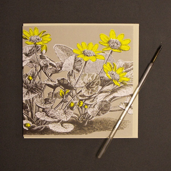 'Buttercup - Neutral' Greetings Card