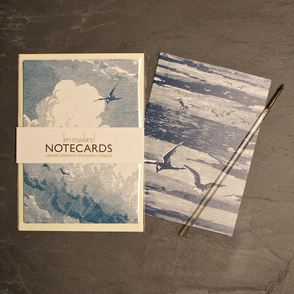 Set of 6 Notecards - Sky & Sea
